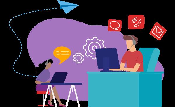 supplier helpcenter illustration